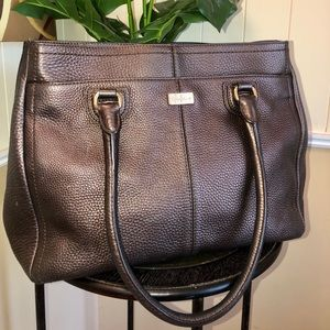 Kenneth Cole leather tote
